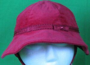 Tommy Hilfiger  Red lined Velvet Lined  Excellent