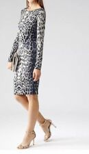 Reiss Special Occasion Long Sleeve Dresses Midi