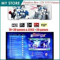 3333 Pandora Box 12S 3288 in 1 Video Games Retro 2D&3D Arcade Console 1080P 2020