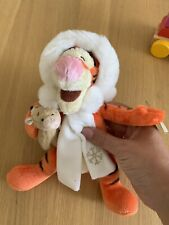 Winter Disney Soft Plush Tiger With Scarf With Tags