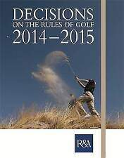 """""""VERY GOOD"""" Decisions on the Rules of Golf, , Book"""