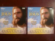 "LOT OF TWO ""STORY OF JESUS FOR CHILDREN"" DVDS-24 LANGUAGE VERSION-BRAND NEW!"