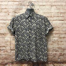 Vintage 90's Italian Silk Shirt - Size Large - Fast P&P