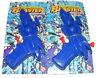 2x Para Niños Pequeño Mini Plástico Pistola de agua/PISTOLAS pistola - Azul