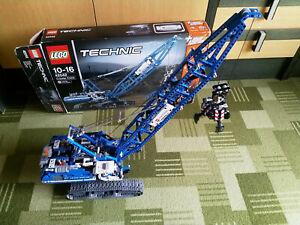 LEGO Technic 42042 Crawler Crane with box and instructions