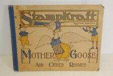 1916 Stampkraft Mother Goose & Other Rhymes bookplate Paula Dlugo Unarco series