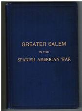 RARE 1901 SIGNED 8th Massachusetts Salem Danvers Beverly Spanish-American War