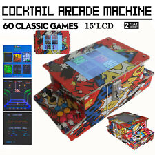 Video Game Machine Cocktail Arcade Machine H/ 60 Classic Games Commercial grade
