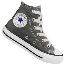 Scarpe sneakers in tela grigia per bambini dai 2 ai 16 anni