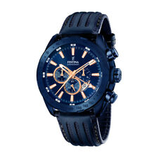 Festina Herrenuhr Chronograph Sport F16898-1 in blau