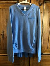 Ivivva by lululemon Blue Long Sleeve Top Size 10 Pleated Back