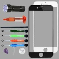 """For iPhone 7 Plus 8 Plus 5.5"""" Front Glass Screen Replacement Repair Lens Tools"""
