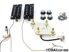 Gibson Les Paul Burstbucker Pro PICKUPS POTS KNOBS Guitar Parts Upgrades!