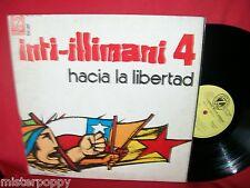 INTI-ILLIMANI 4 Hacia la Libertad LP 1975 ITALY MINT- first pressing Textured