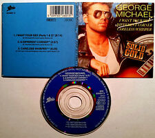 "George Michael-I want your sex 3 trck CD 1989 ""rar"""