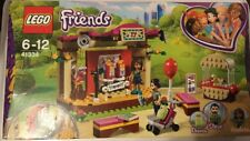 New Boxed Lego Friends 41334 Andrea's Park Performance - Rotating Stage, Steve