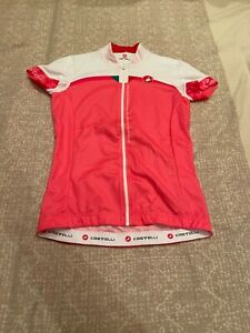 CASTELLI Cycling Jersey BRAND NEW ORIGINAL SHORT SLEEVES SIZE S For Women