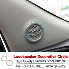 Opel Mokka acero inoxidable anillos altavoces marco cegar cubierta Cover