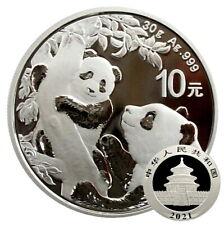 ++ China Panda 2021 - 30g Ag / Silber - 10 Yuan ++