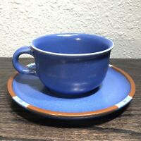 DANSK MESA BLUE ( 1 ) 8 Oz COFFEE / TEA CUP AND SAUCER   • Free Shipping •