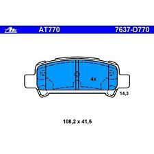 Ate AT770 PremiumOne Disc Brake Pads Rear