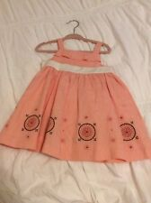 Janie and jack 3-6 months girl dress easter pink flowers