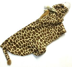 Signature Fashion Pet Dog Collection Giraffe Halloween Costume Medium
