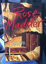 Rose Madder by Stephen King (1995, Hardcover)