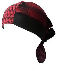 BABY PALI BANDANA Rot-schwarz Kopftuch