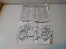 Playmobil manual for train set 4000 4001 4025 4005 4027 4024 4050 4051