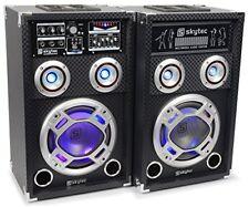 Imperdibile Set Altoparlanti Karaoke Skytec Ka-06 400w USB SD Mp3 3 ingressi Mic