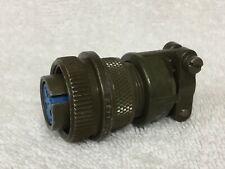 Amphenol 14S-1S Socket With Clamp - NOS Surplus