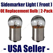 Sidemarker (Front) Light Bulb 2pk - Fits Listed Buick Vehicles - 97