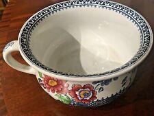 Vintage Burslem Losolware Oriental design planter/ chamber pot