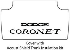 1968 1970 Dodge Coronet Trunk Rubber Floor Mat Cover with MB-060 Coronet