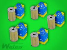 5 x SH418 Ölfilter NSU TT TTS PRINZ 600 1000 1200 BMW E10 1500-2000