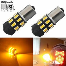 JDM ASTAR Amber 1156PY BAU15S 7507 High Power 5730SMD Turn Signal LED Light Bulb