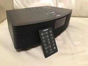 Bose Wave Radio AWR 1 Stereoanlage AUX Bluetooth + FB Schwarz !