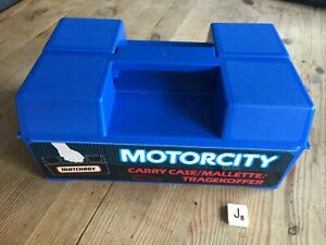 Matchbox Carry Case - Motor City Carry Case With 24 Vehicles All Pre 1982 - VGC.