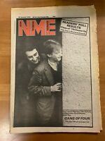 NME NEW MUSICAL EXPRESS MAGAZINE JANUARY 1979 GANG OF FOUR CLASH BLONDIE CRASS