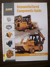 Vintage Original 2000 Case Remanufactured Components guide 12-pages