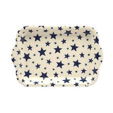 Emma Bridgewater-PICCOLO VASSOIO RETTANGOLARE MELAMINA - 22 x 14.5cms - cielo stellato