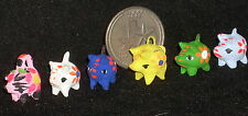 (1) Piggy Bank 1:12 C204(2) Mexican Folk Art Vary Child 1:12 Miniature Mercado