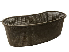 Contour, Kidney Shaped Koi Pond Aquatic Plant Basket Allows Great Water Flow