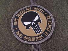 Snake Patch - PUNISHER dieu jugera nos ennemis - Mercenaire US tap OD BV opex