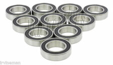 10 Wheel Bearing 6203-RS1 17x40x12 Sealed Ball Bearings