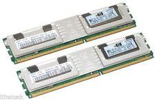 HP 2 GB Kit de memoria (DIMM 2x1GB) 397411-B21 398706-051 para DL360 G5 DL380 G5 + acabada