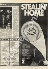 Babe Ruth Stealin' Home E-ST 11451 MM5 LP Advert 1975