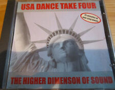 V.A - USA Dance Take Four, The Higher Dimension Of Sound  CD Techno, Euro House
