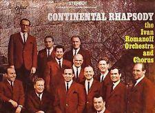 Ivan Romanoff . Continental Rhapsody . CBC Radio . Canadian artist LP